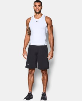Men's UA HeatGear® Armour Compression Tank  1  Color Available $24.99