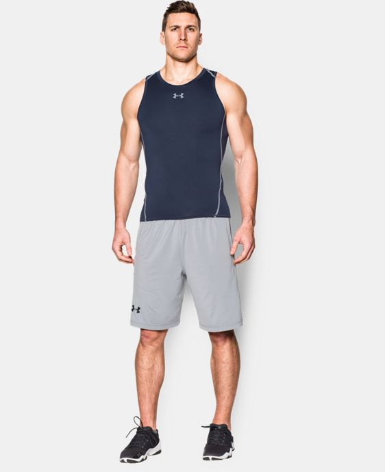 Men's UA HeatGear® Armour Compression Tank LIMITED TIME: FREE U.S. SHIPPING 1 Color $18.99