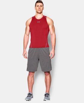 New Arrival  Men's UA HeatGear® Armour Compression Tank LIMITED TIME: FREE SHIPPING 2 Colors $29.99