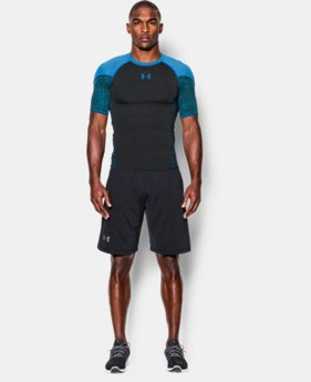 Men's UA HeatGear® Armour Scope Short Sleeve Compression Shirt  1 Color $26.99