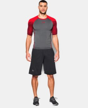 Men's UA HeatGear® Armour Scope Short Sleeve Compression Shirt LIMITED TIME: FREE SHIPPING 1 Color $29.99