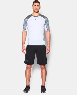 Men's UA HeatGear® Armour Scope Short Sleeve Compression Shirt LIMITED TIME: FREE U.S. SHIPPING 1 Color $26.99