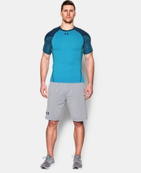 Men's UA HeatGear® Armour Scope Short Sleeve Compression Shirt   $22.49