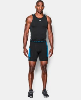 Men's UA HeatGear® Armour Pocketed Compression Shorts   $22.49