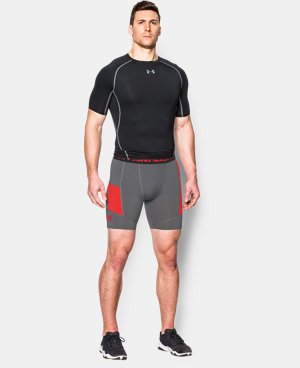 Men's UA HeatGear® Armour Pocketed Compression Shorts  1 Color $22.49 to $29.99