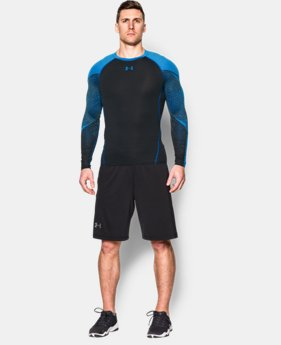 Men's UA HeatGear® Armour Scope Long Sleeve Compression Shirt