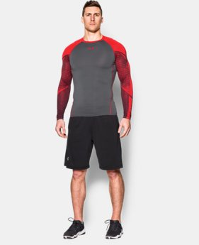 Men's UA HeatGear® Armour Scope Long Sleeve Compression Shirt  1 Color $29.99