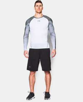 Men's UA HeatGear® Armour Scope Long Sleeve Compression Shirt  1 Color $33.99