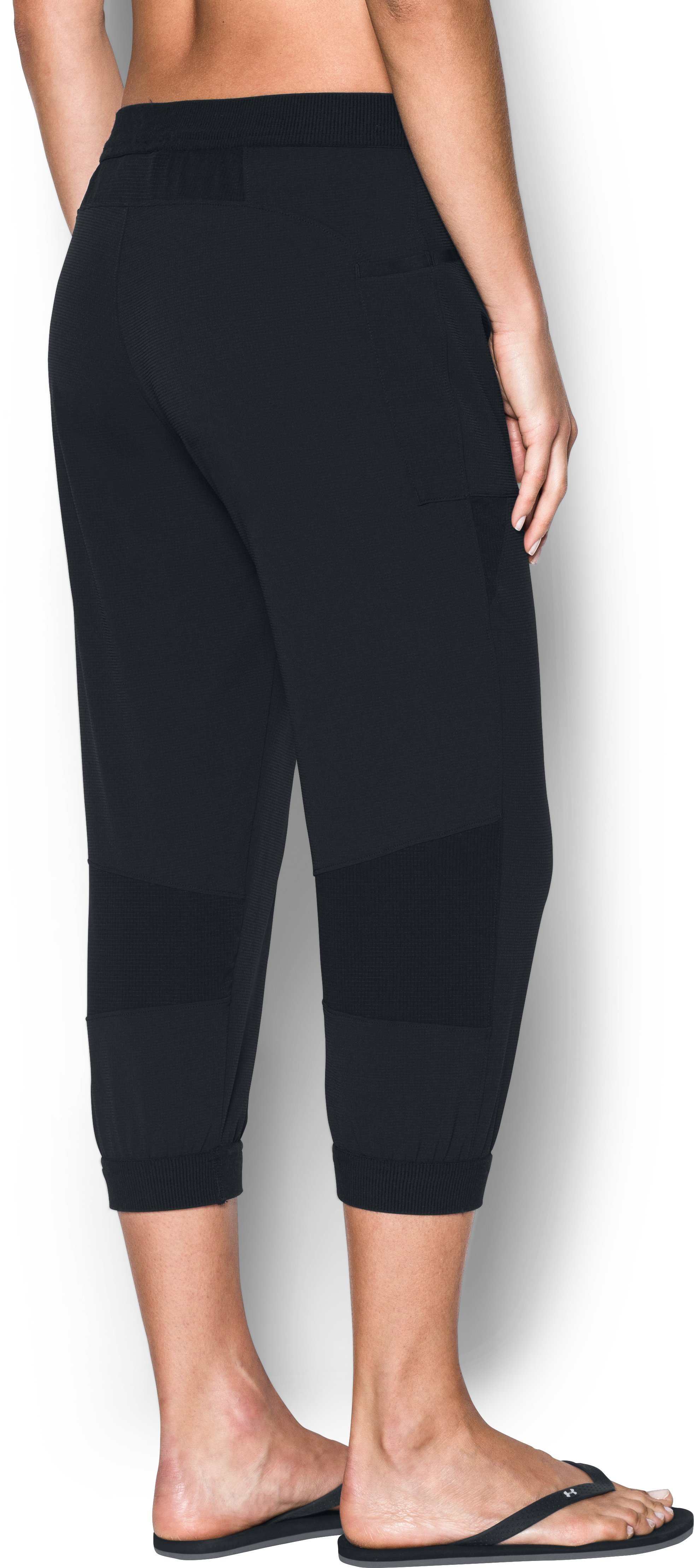 Women's UA ArmourVent™ Fishing Pants, Black , undefined