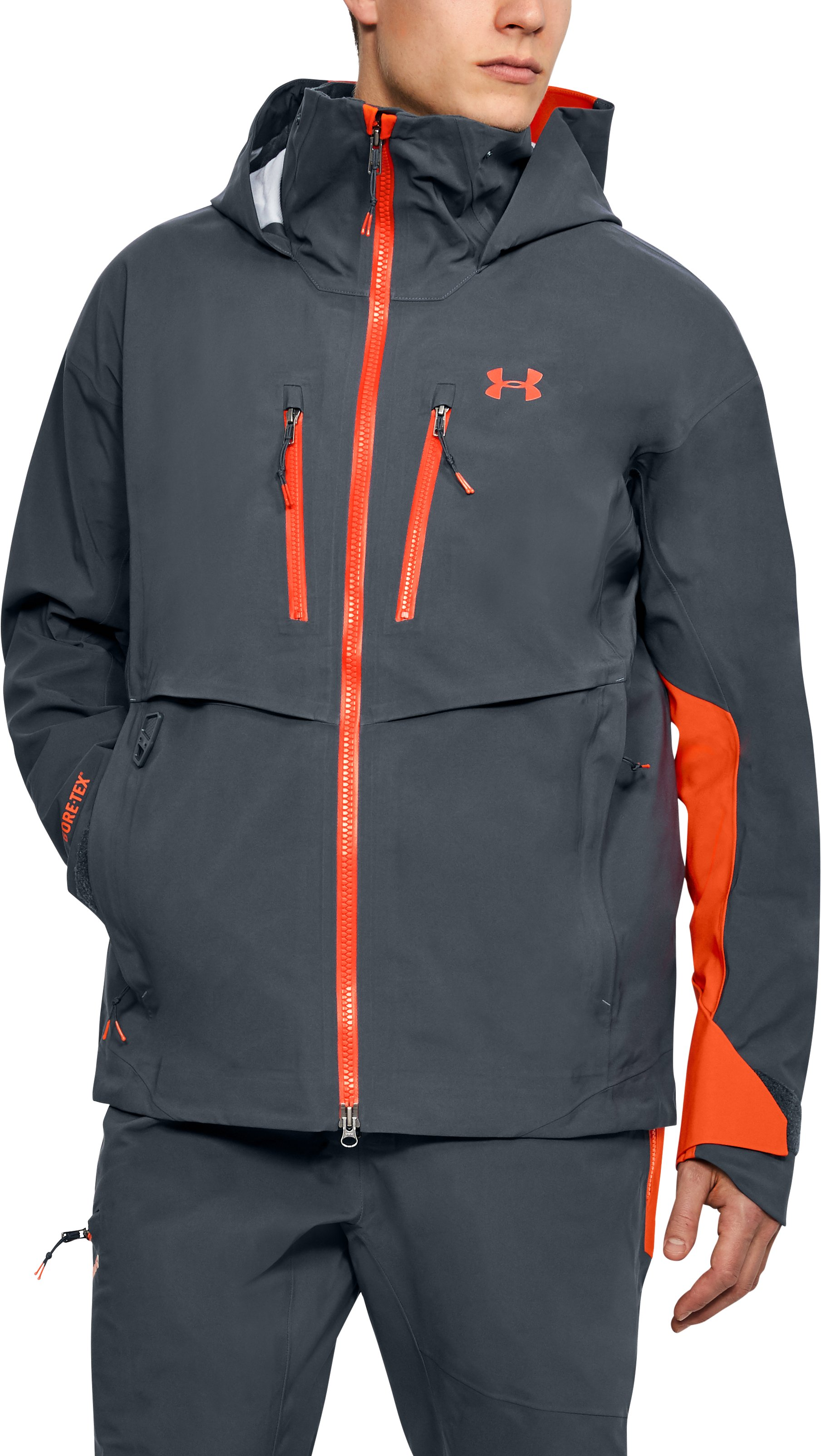 Men's UA Ridge Reaper® Gore-Tex® Jacket, STEALTH GRAY, undefined