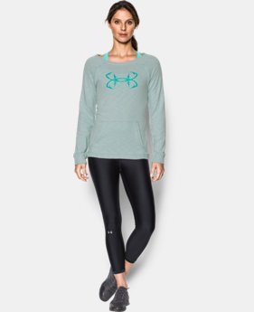Women's UA Ocean Shoreline Terry Crew  3 Colors $49.99