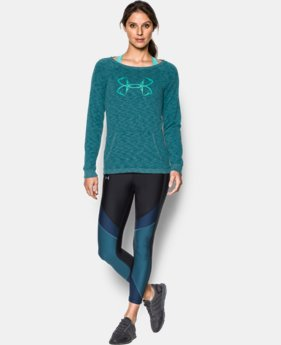 Women's UA Ocean Shoreline Terry Crew  1 Color $49.99