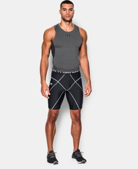 New Arrival  Men's UA HeatGear® Armour Compression Coreshorts   $49.99