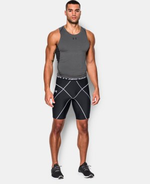 New Arrival  Men's UA HeatGear® Armour Compression Coreshorts  1 Color $49.99