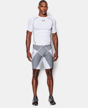 Men's UA HeatGear® Armour Compression Coreshorts  1 Color $33.99