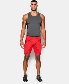 Men's UA HeatGear® Armour Compression Coreshorts  1 Color $37.99