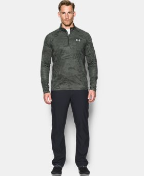 Men's UA CoolSwitch Thermocline ¼ Zip  2 Colors $36.74
