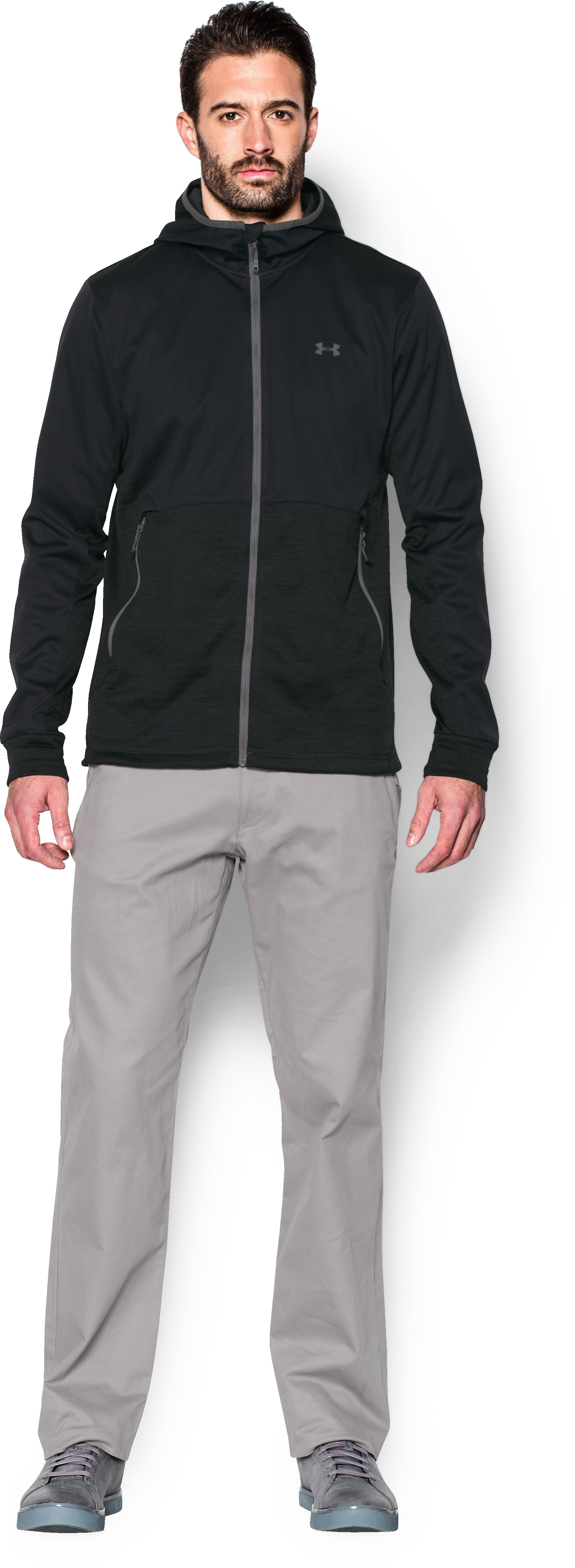 Men's UA Abney Jacket, Black