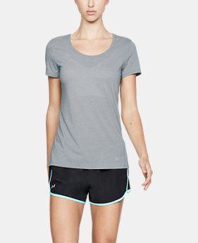 Women's UA Streaker Short Sleeve  1  Color Available $20.99 to $26.24