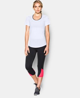 Women's UA Streaker Short Sleeve  6 Colors $20.99 to $29.99