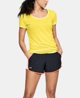 Women's UA Streaker Short Sleeve  4 Colors $20.99 to $29.99
