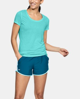 Women's UA Streaker Short Sleeve  1  Color Available $29.99