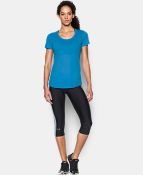 Best Seller Women's UA Streaker Short Sleeve LIMITED TIME: FREE SHIPPING 1 Color $29.99