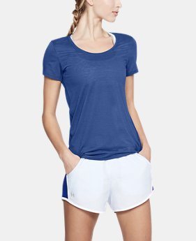 Women's UA Streaker Short Sleeve  7  Colors $34.99