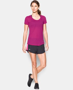 Women's UA Streaker Short Sleeve  4 Colors $20.99 to $22.99