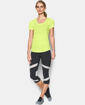 New to Outlet Women's UA Streaker Short Sleeve LIMITED TIME: FREE U.S. SHIPPING 2 Colors $17.24 to $22.99