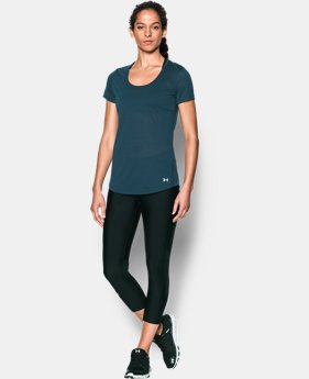 New to Outlet Women's UA Streaker Short Sleeve LIMITED TIME: FREE U.S. SHIPPING 2 Colors $17.24 to $29.99