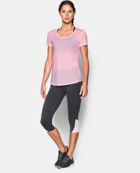 New to Outlet Women's UA Streaker Short Sleeve  3 Colors $22.99
