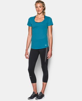 New to Outlet Women's UA Streaker Short Sleeve  1 Color $22.99