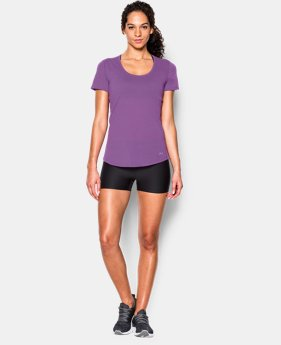 New to Outlet Women's UA Streaker Short Sleeve  2 Colors $22.99