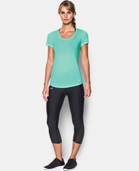 New Arrival Women's Threadborne™ Streaker Short Sleeve  1 Color $29.99