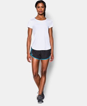Women's UA Fly-By 2.0 Tee LIMITED TIME: FREE SHIPPING  $34.99