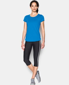 New to Outlet Women's UA Fly-By 2.0 Tee LIMITED TIME: FREE U.S. SHIPPING 2 Colors $20.24 to $26.99