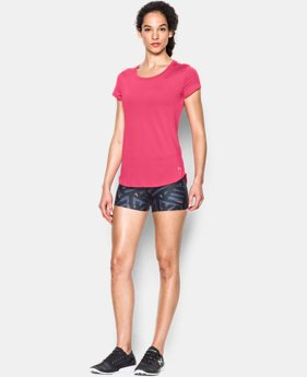 Women's UA Fly-By 2.0 Tee LIMITED TIME: FREE SHIPPING 4 Colors $39.99