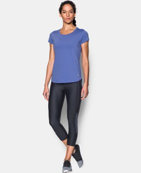 New to Outlet Women's UA Fly-By 2.0 Tee LIMITED TIME: FREE U.S. SHIPPING 3 Colors $20.24 to $26.99