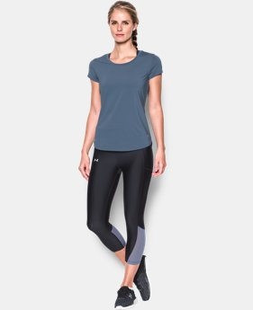 Women's UA Fly-By 2.0 Tee LIMITED TIME: FREE SHIPPING 2 Colors $34.99