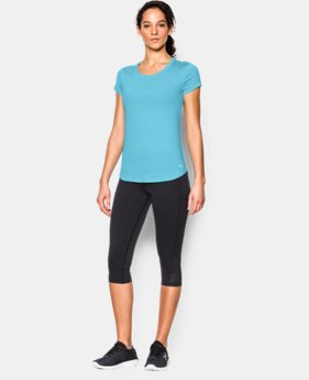 New to Outlet Women's UA Fly-By 2.0 Tee  1 Color $20.24 to $26.99