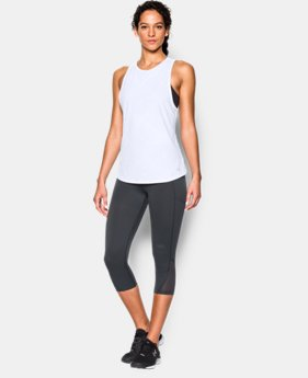 New to Outlet Women's UA CoolSwitch Run Tank  1 Color $29.99