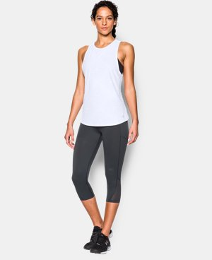 Women's UA CoolSwitch Run Tank LIMITED TIME: FREE SHIPPING 1 Color $44.99