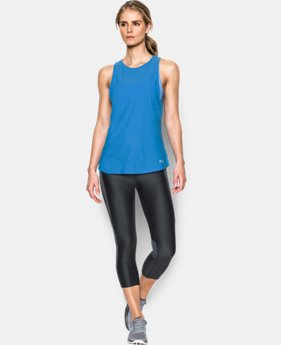 Women's UA CoolSwitch Run Tank LIMITED TIME: FREE SHIPPING 1 Color $39.99