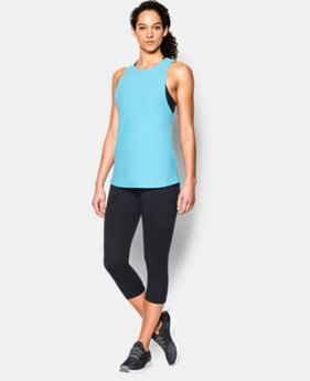 New to Outlet Women's UA CoolSwitch Run Tank LIMITED TIME: FREE U.S. SHIPPING 1 Color $23.99 to $29.99