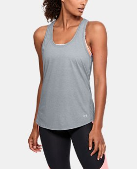 Women's UA Streaker Tank  1  Color Available $27.99