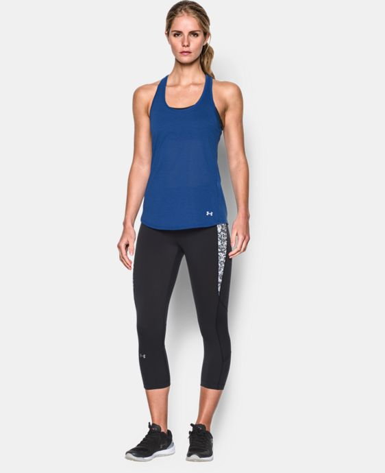 New to Outlet Women's UA Streaker Tank  1 Color $15.74 to $20.99