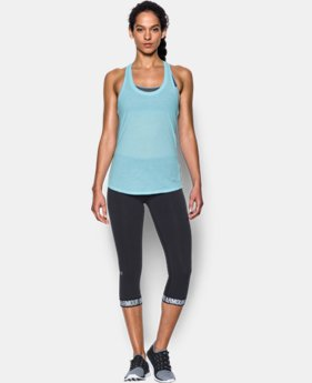 Best Seller Women's UA Streaker Tank  4 Colors $27.99