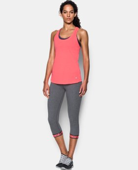 Best Seller Women's UA Streaker Tank  3 Colors $27.99