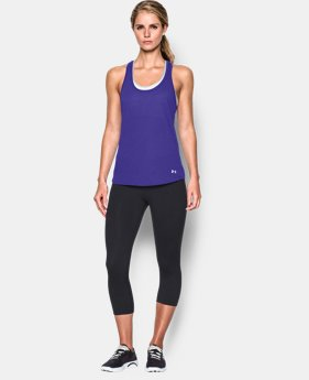 New to Outlet Women's UA Streaker Tank  3 Colors $15.74 to $20.99